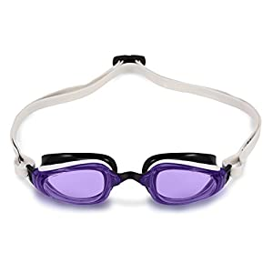 MP Michael Phelps K180 GT Goggle, Violet/White/Black