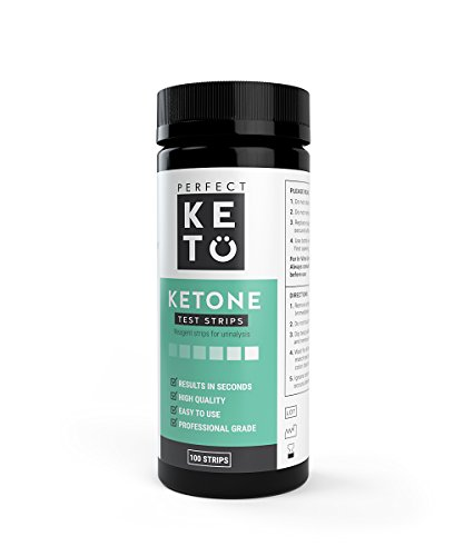 Perfect Keto Ketone Testing Strips for Ketosis and The Ketogenic Diet, 100 Strips - Buy Online ...