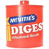 McVities Digestives Red Biscuit Barrel
