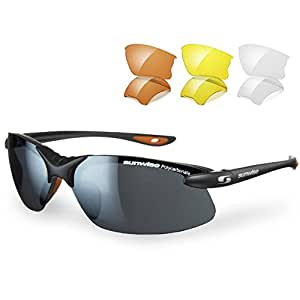 Sunwise Windrush Interchangable Gafas De Sol - Negro