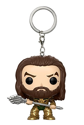 Funko Pop! Keychain: DC Justice League - Aquaman