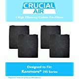 4-Pack High Efficiency Kenmore 295 Series Carbon Pre-Filter