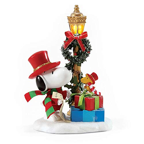 Department 56 Peanuts Season to Be Jolly by Possible Dreams Figurine, 7.63