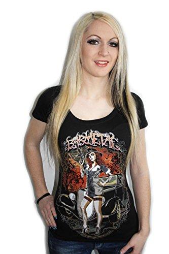 Barmetal Clothing Gangster Scoop Neck Womens Heavy Metal ...