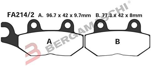 FA214//2 Brake Pads for TRIUMPH Sprint RS 99-04 Rear