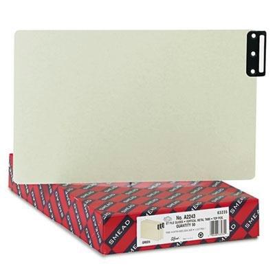Brand New Smead End Tab Guides Blank Vertical Metal Tabs Pressboard Legal 50/Box