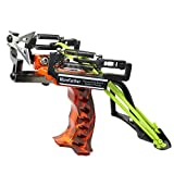 MoreFarther Superpower Stainless Hunting Slingshot Catapult with Laser, 2 Pcs...