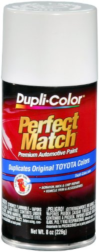 Dupli-Color BTY1556 Super White II Toyota Exact-Match Automotive Paint - 8 oz. ()