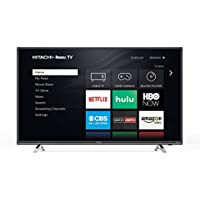 Hitachi 32RZ2 32' 720p Roku Smart LED TV, Black (2018 Model)