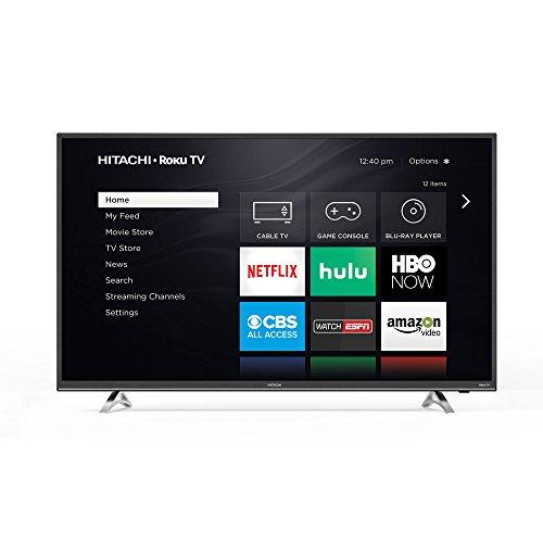 Hitachi 32RZ2 32″ 720p Roku Smart LED TV, Black (2018 Model)