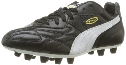 De Puma white Football 01 Chaussures Top King Ifg Noir team black Homme Gold B6qI6TRx
