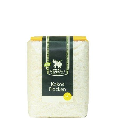 Royal Elephant Kokosflocken, 6er Pack (6 x 125 g) - Bio