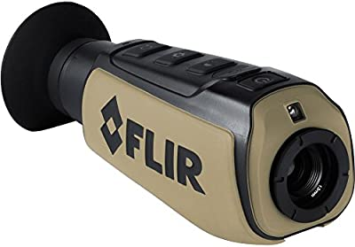 FLIR Systems, Inc. 431-0008-31-00 Scout III-240 Thermal Imager, Detector 240X180 30Hz, Black/Brown by FLIR