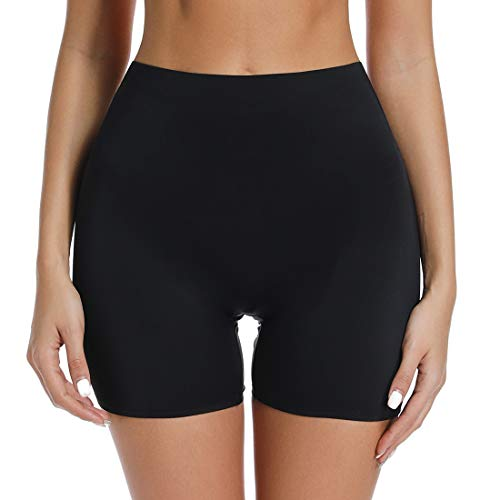 Slip Shorts for Under Dresses Thigh Slimmer Shapewear Panties Women Seamless Smooth Boyshorts Underwear (Best Shapewear Boy Shorts)