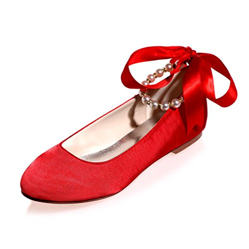 amp; Low Wedding Big Woman'S Summer With Shoes Wedding Red Evening Yards L YC Spring autumn qwzvCv