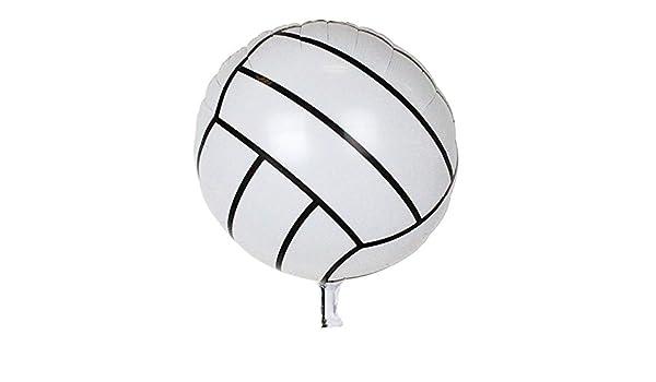 iBellete Globos de Aluminio Forma de Pelota de Voleibol de ...