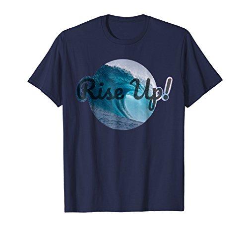 Rise Up! Blue Wave 2018 Anti-Trump Shirt