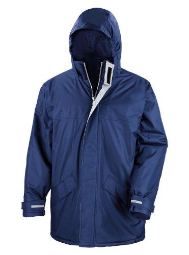 Result Herren Mantel Blau Blau Medium