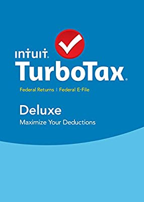 TurboTax Deluxe 2015 Federal + Fed Efile Tax Preparation Software - PC/MacDisc Twister Parent
