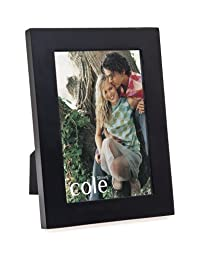 Philip Whitney 4x6 Classic Wood Black Wood Picture Photo Frame Standing Vertical or Horizontal