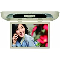 Tview T20DVFD-TN 20-Inch Tan Flip Down with Built-in DVD Player (Beige)