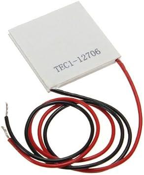 SODIAL TEC1 014674- Modulo refrigerador termoeléctrico, 1pcs TEC1 ...
