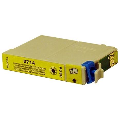 Amarillo CiberDirect cartucho de tinta compatible para usar con ...
