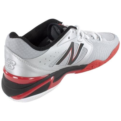 888098149074 - New Balance Men's MC1296 Stability Tennis Tennis Shoe,Silver/Red,10 D US carousel main 5