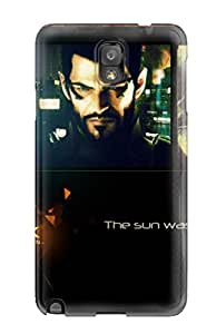 New Arrival Cover Case With Nice Design For Galaxy Note 3- Deus Ex Human Revolution 2011