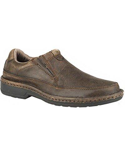 Premium Roper Boots - Roper Mens Powerhouse Casual Brown Shoes 7.5