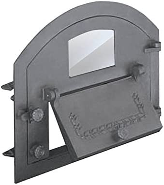 Puerta Del Horno para pizza Horno Puerta Madera del Horno Puerta Horno de piedra Parrilla de hierro fundido 610x 480