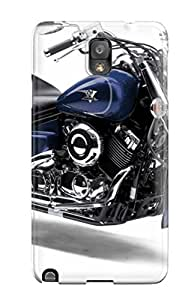 Galaxy Note 3 Case, Premium Protective Case With Awesome Look - Yamaha Motorcycle