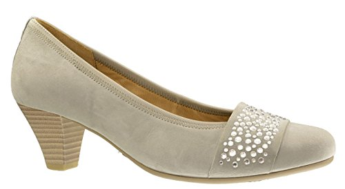 482 gris Grau Damen 10 Shoes Gabor 25 Grau Keilabsatz Gris v6wgpZqE