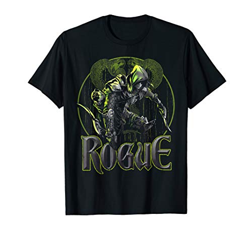 Elven Rogue Assassin Fantasy Class Graphic Shirts for Gamers]()