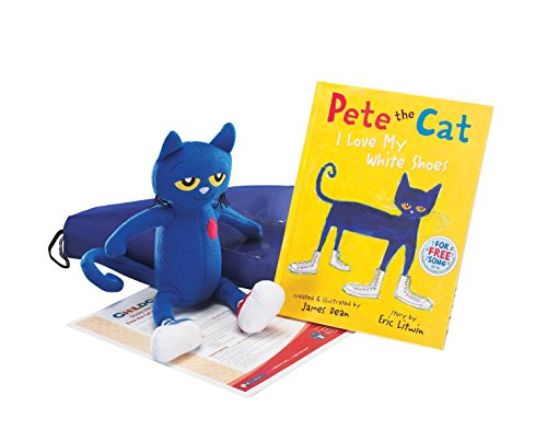 Childcraft Pete the Cat: I Love My White Shoes Literacy Bag ()