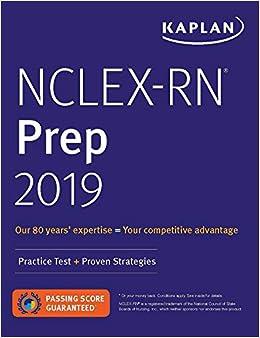 Nclex-rn Prep 2019: Practice Test + Proven Strategies por Kaplan Nursing epub