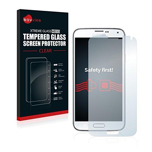 Panzerglas Glasfolie Samsung Galaxy S5 / S5 Neo Glas Schutzfolie - 9H Hartglas