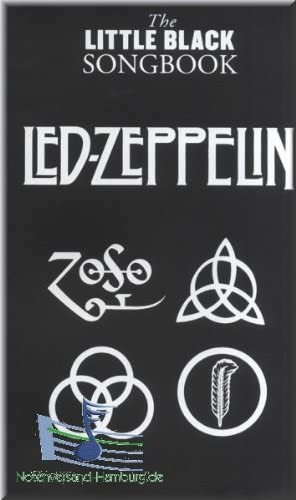 The Little Black Songbook – LED ZEPPELIN – acordes de guitarra ...