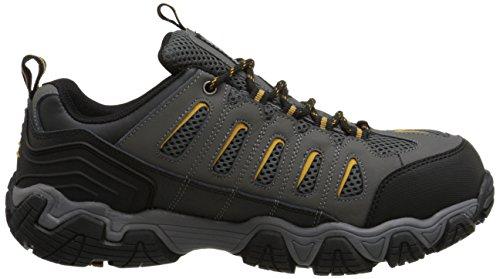 Skechers for Work Men's Blais Steel-Toe Hiking Shoe