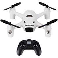 Welcomeuni 720p 2.4G 4CH RC White Quadcopter with Battery for Hubsan X4 Camera Plus H107C+