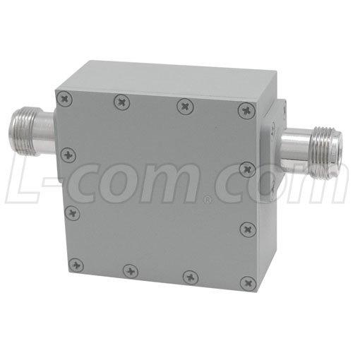 L-Com Global Connectivity - BPF900A - 900 MHz Ultra High Q 4-Pole Outdoor Bandpass Filter, Full Band