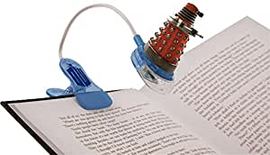 DOCTOR WHO CLIP ON BOOK LIGHT