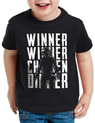 nero multigiocatore per bambini Pvp A pollo cena t T vincitore n shirt awnOpxCq