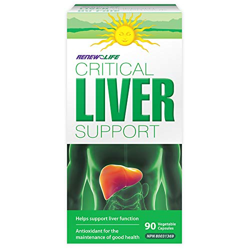 Renew Life Critical Liver Support, Liver Protecting Supplement, 90 Count