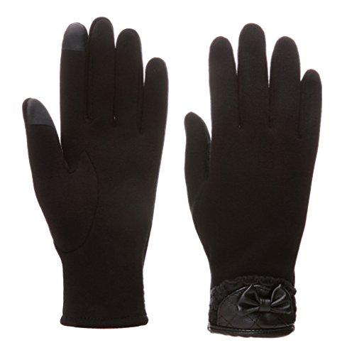 Dosoni Women Winter Fleece Gloves Touch Screen Gloves Warm Thick Mittens