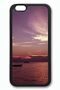 iPhone 6 Case - Derawan Islands East Borneo Indonesia Beautiful Scenery Pattern Rubber Black Case Cover Skin For iPhone 6 (4.7 inch)