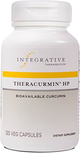 Integrative Therapeutics - Theracurmin HP - Curcumin Turmeric Supplement - 27x More Bioavailable than Other Extracts - Increased Absorption - NSF Certified for Sport - Vegan - 120 Capsules by Integrative Therapeutics