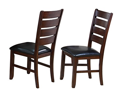 Crown Mark 2152 Bardstown Side Chair, Espresso, 2 Per Box For Sale