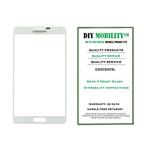 Samsung Galaxy Note 3 WHITE Replacement Glass Screen with