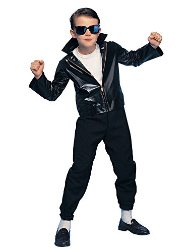 [Rubie's Costume Co Greaser Costume, Large] (Greaser Costume Boy)